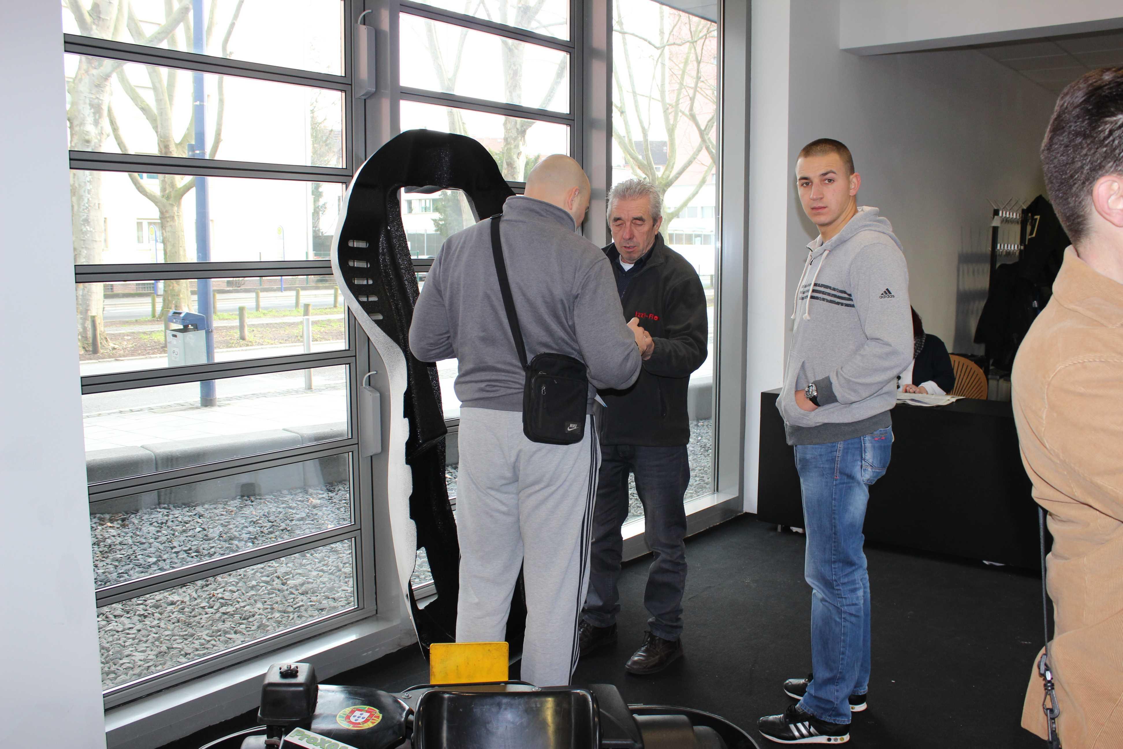 IZZI-FLEX Apresentação na Feira Internacional do Karting Alemanha2