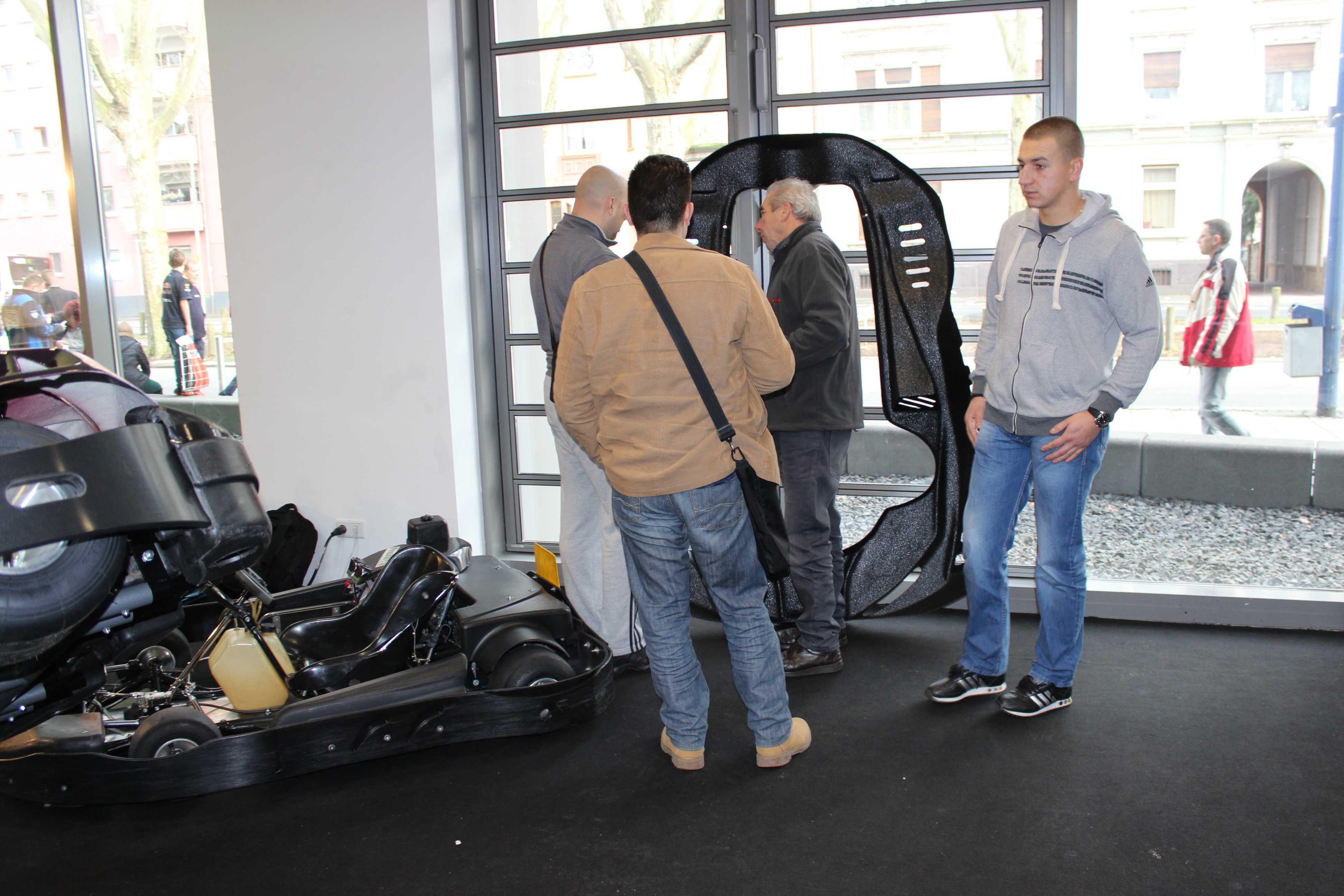 IZZI-FLEX Apresentação na Feira Internacional do Karting Alemanha5