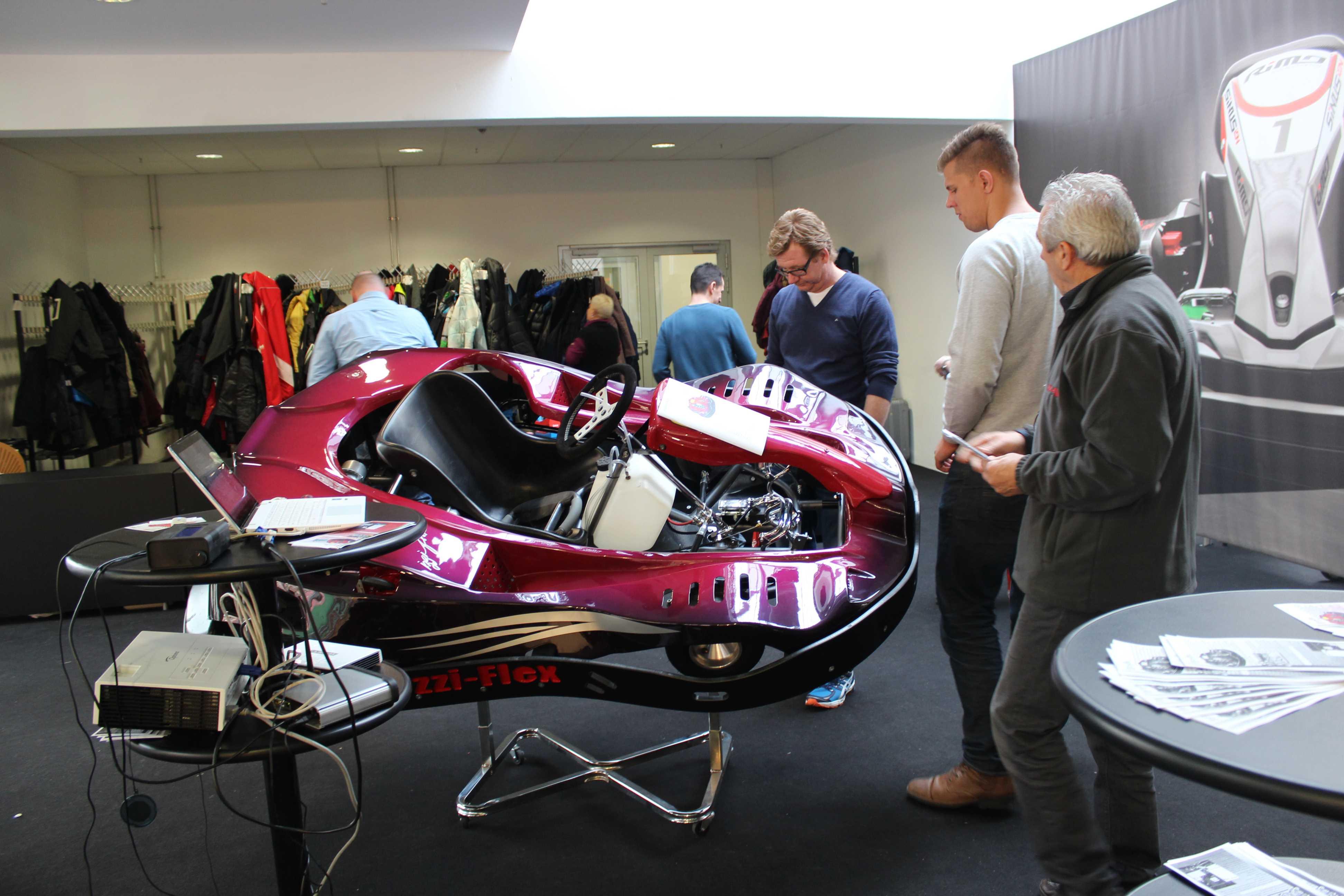 IZZI-FLEX Apresentação na Feira Internacional do Karting Alemanha6