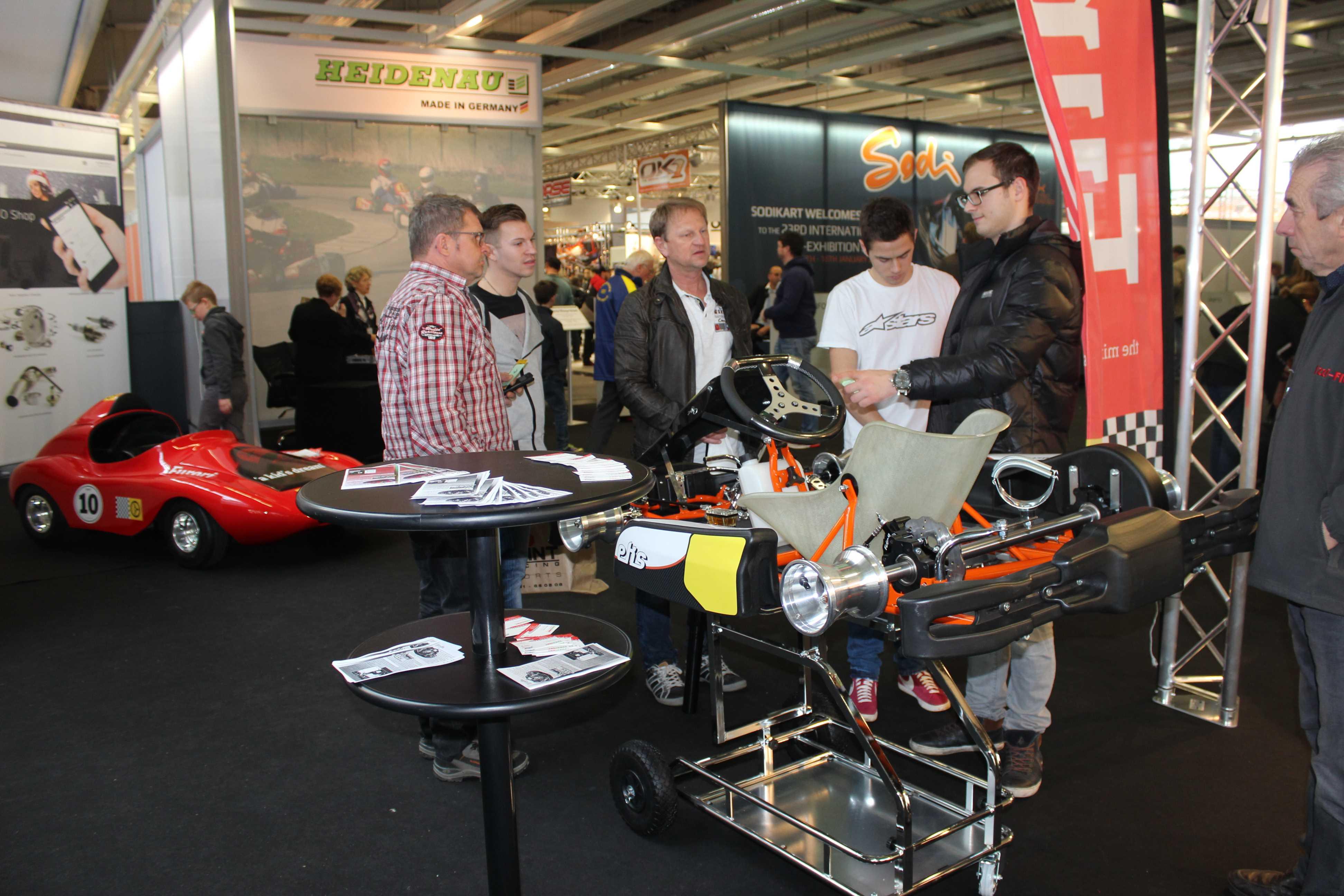 IZZI-FLEX Apresentação na Feira Internacional do Karting Alemanha10