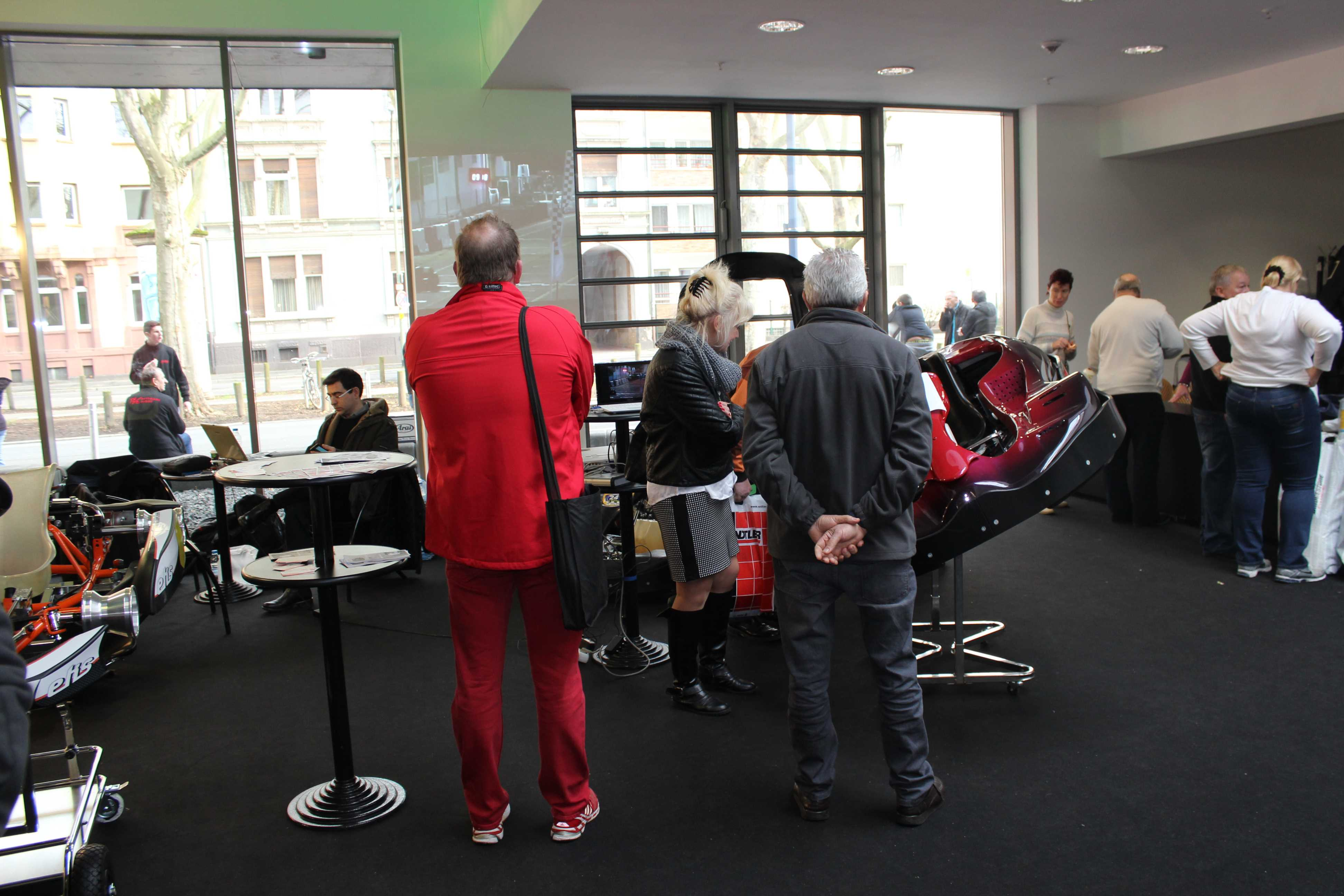 IZZI-FLEX Apresentação na Feira Internacional do Karting Alemanha11