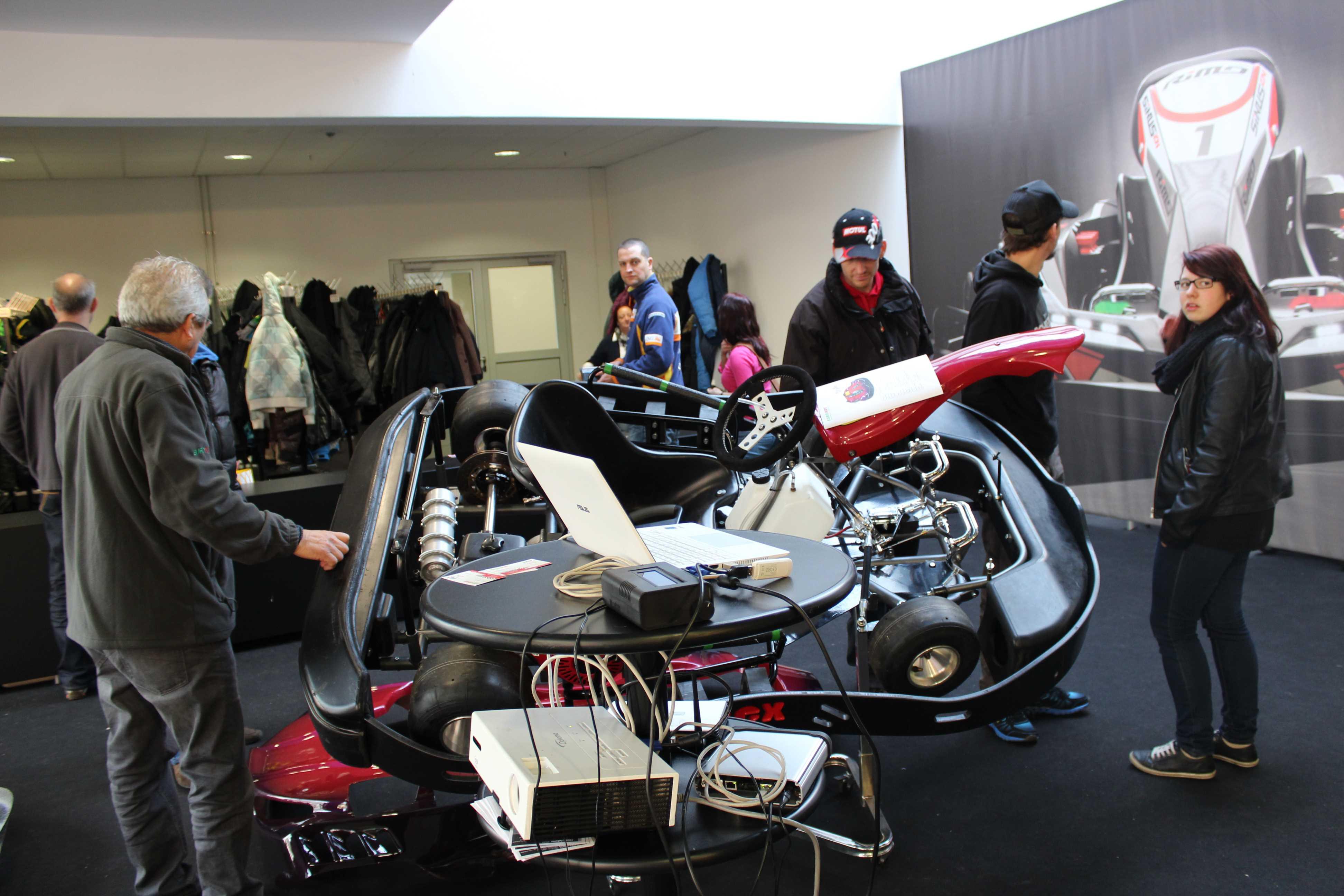 IZZI-FLEX Apresentação na Feira Internacional do Karting Alemanha19