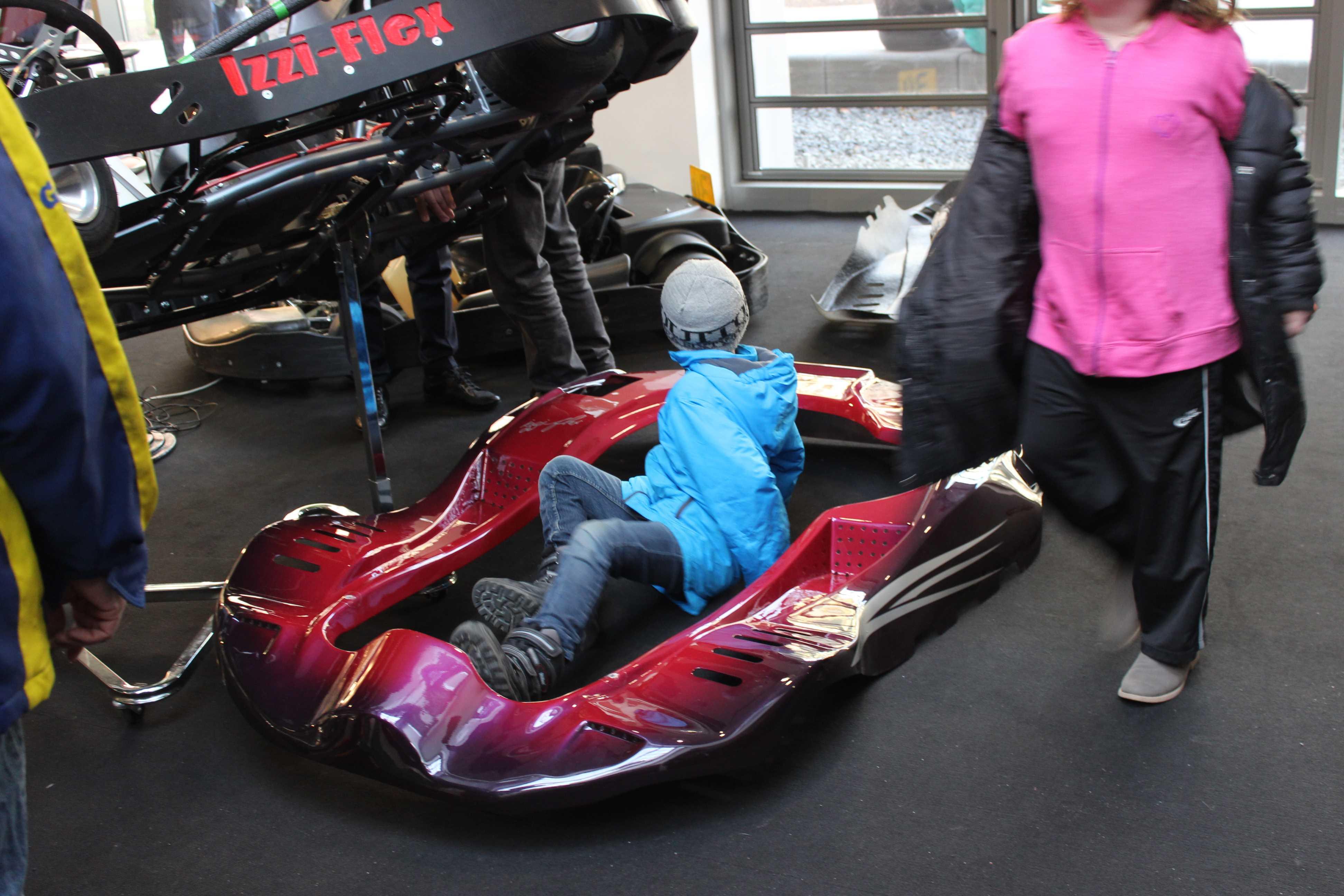 IZZI-FLEX Apresentação na Feira Internacional do Karting Alemanha21