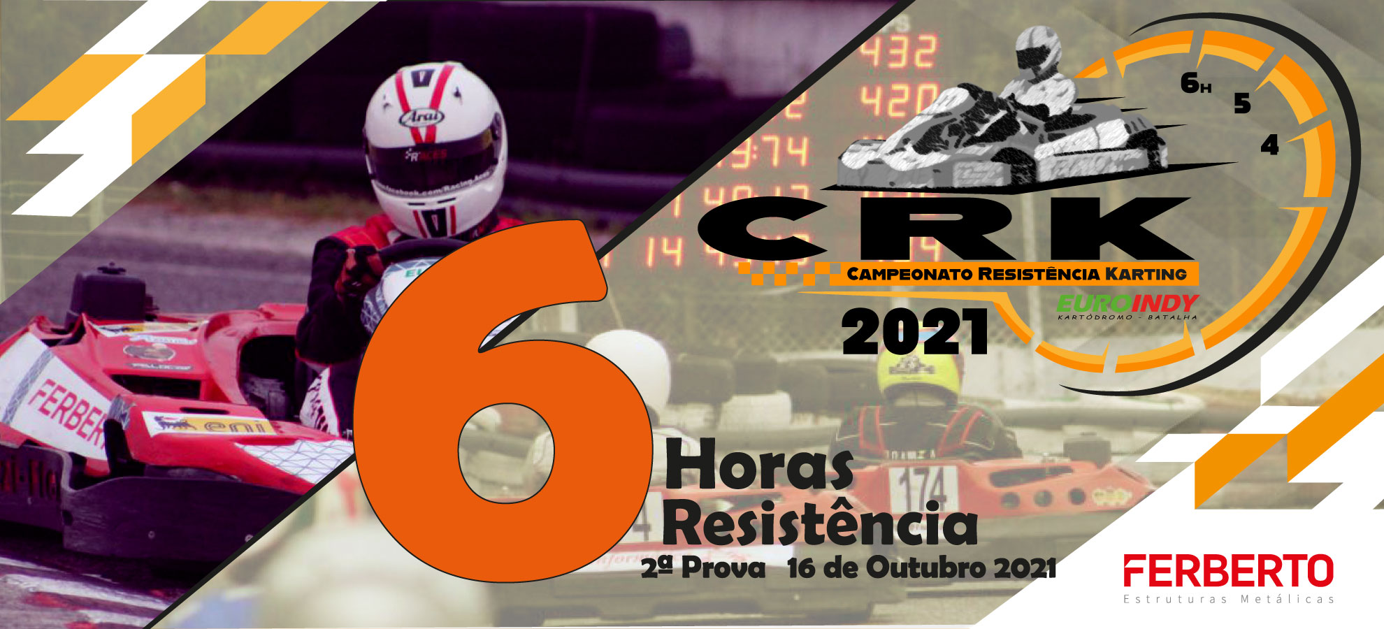 2º Prova - Campeonato Resistência Karting 2021